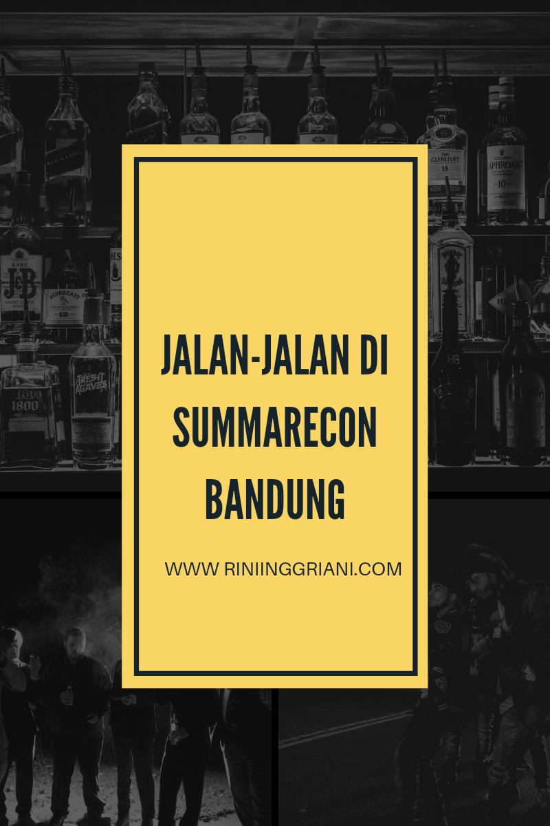 Jalan-jalan di Summarecon Bandung