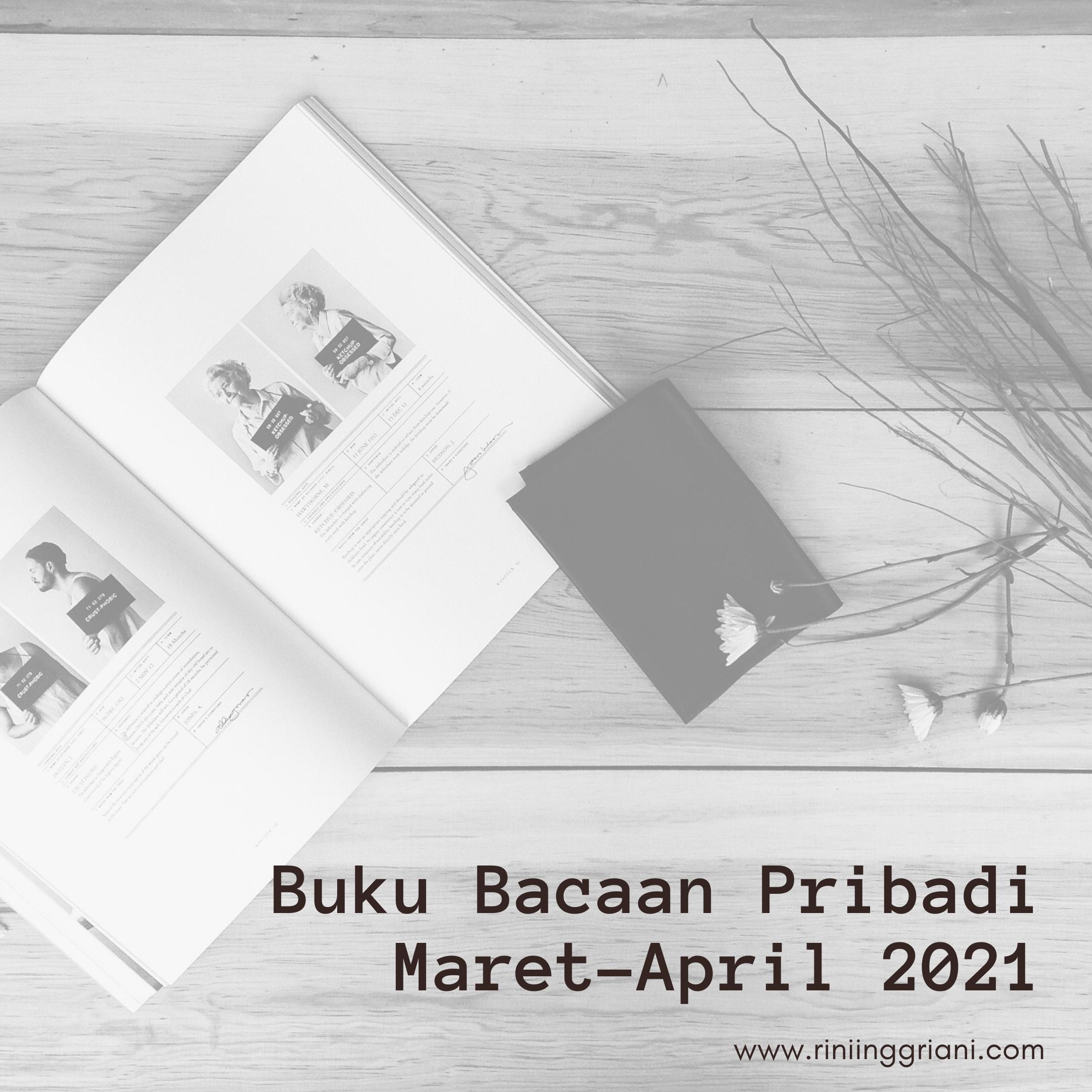 Buku Bacaan Pribadi Maret-April 2021